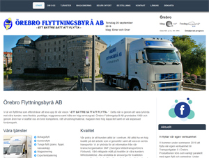 Nyanskaffad lastbil för distribution åt PostNord.
